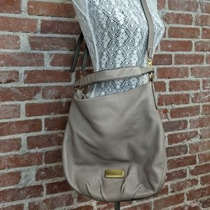 MARC BY MARC JACOBS Taupe crossbody